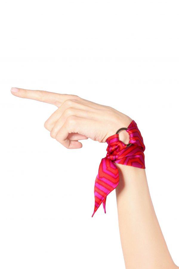 Mimi silk bracelet