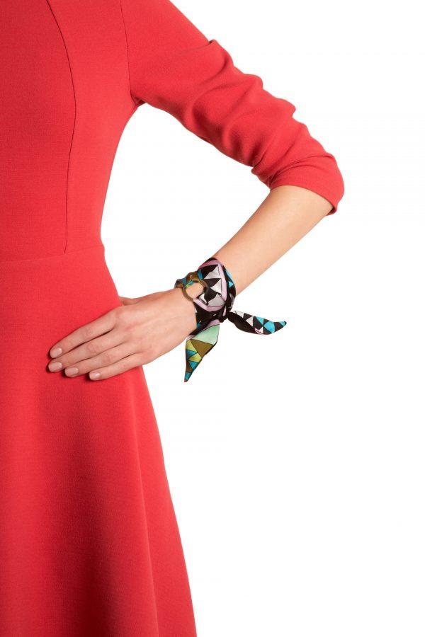 Marcella silk bracelet