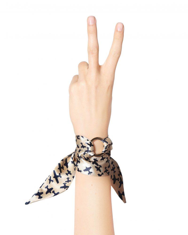 Brigitte Silk Bracelet