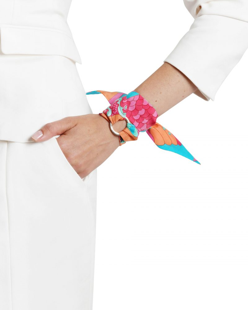 Paloma silk bracelet