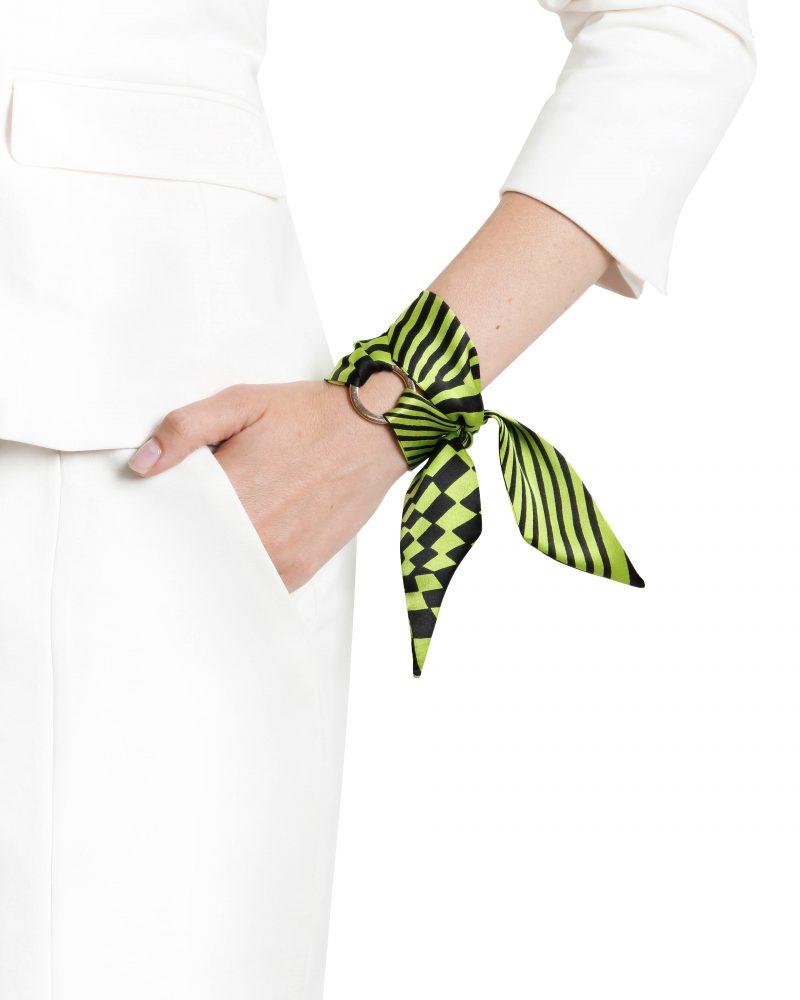 Nina silk bracelet