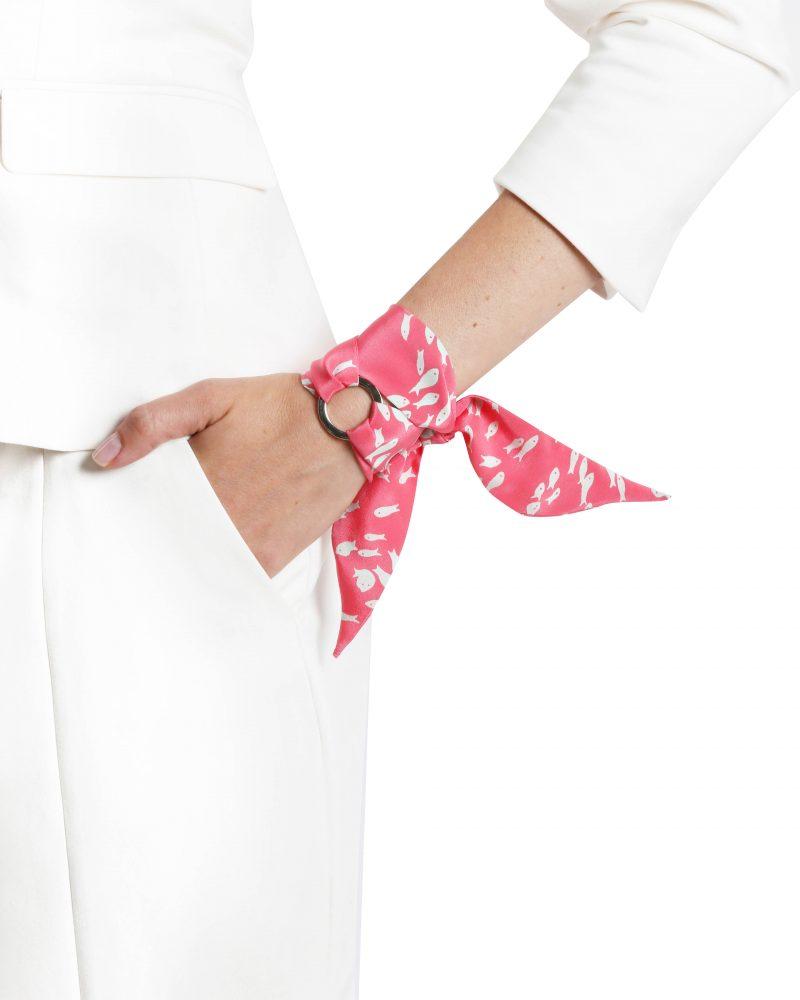 Pauline silk bracelet