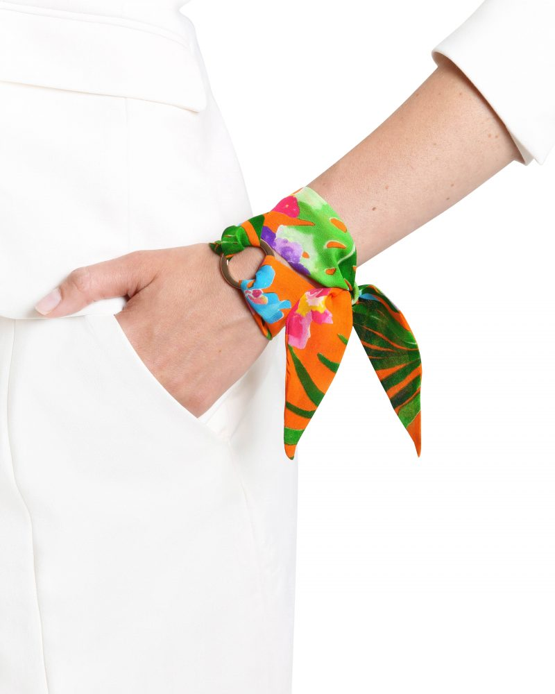 Gabriella sill bracelet