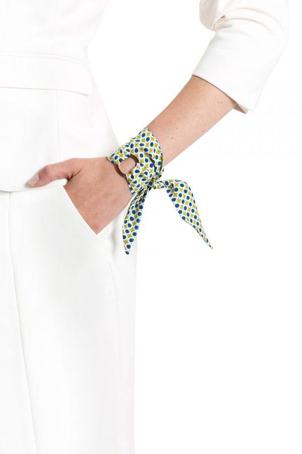 Yasmin silk bracelet
