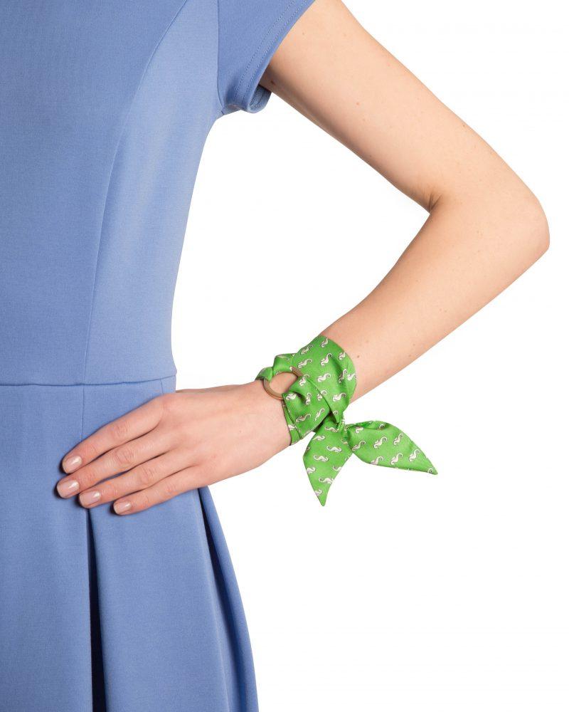 Marie silk bracelet