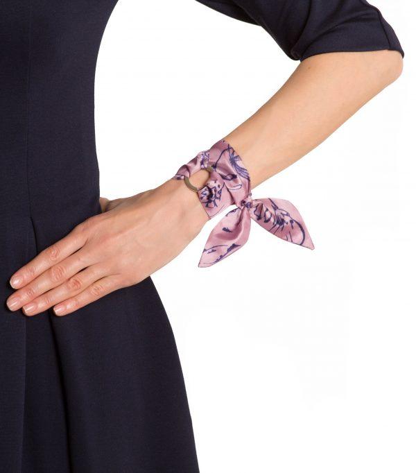 Chloe silk bracelet