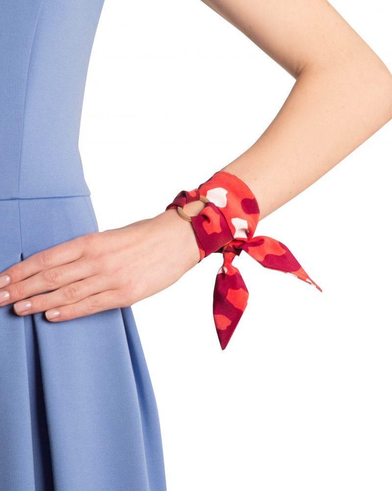 Aurelie silk bracelet