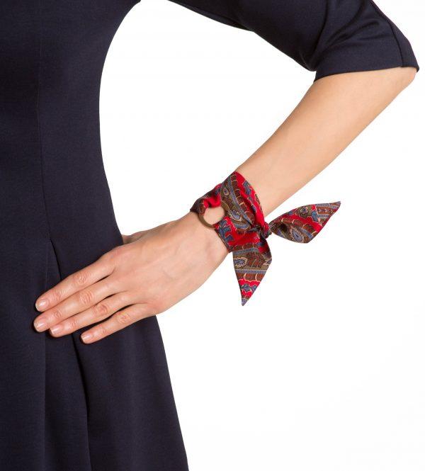 Camilla silk bracelet