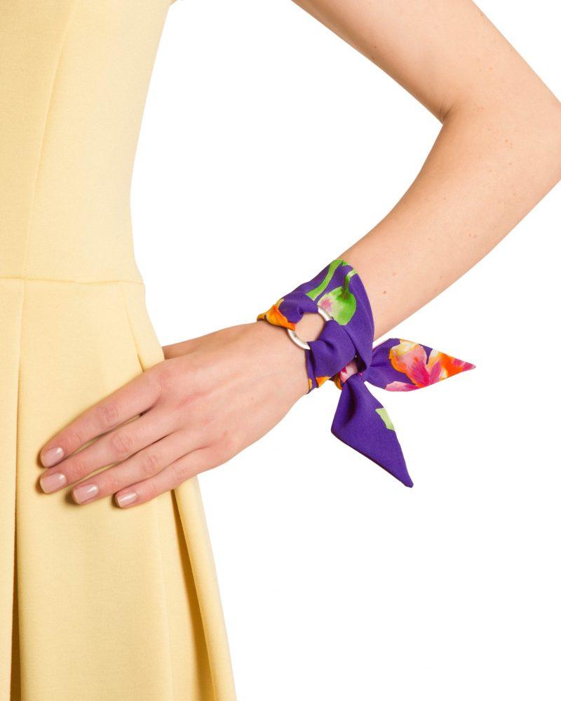 Violette Silk Bracelet