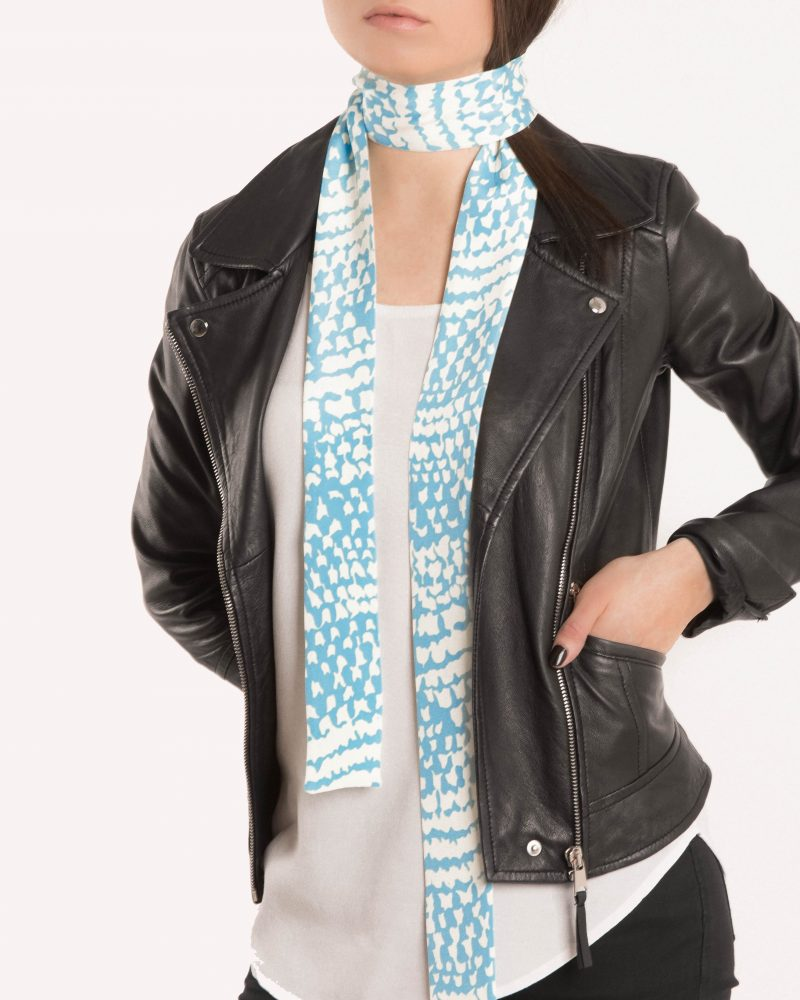 Isabelle skinny scarf