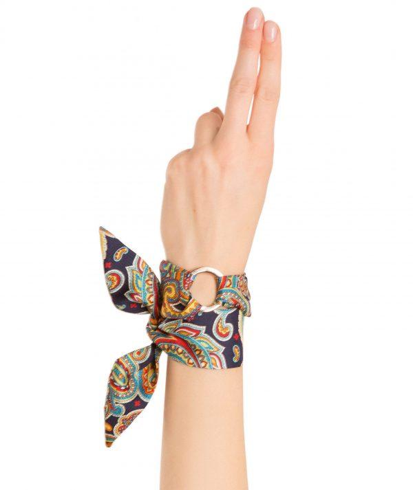 Agatha Silk Bracelet